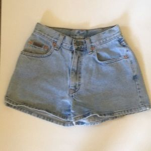 Calvin Klein Light Blue Denim Shorts